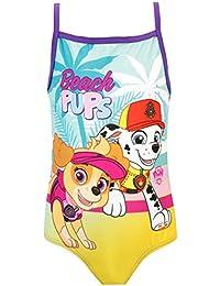Paw Patrol Bañador para Niña La Patrulla Canina