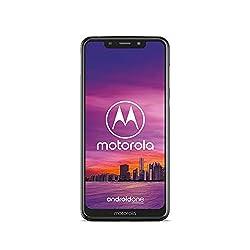 Motorola One Smartphone (14,98 cm (5,9 Zoll), 64 GB interner Speicher, 4 GB RAM, Android One) Weiß, inkl. Schutzcover