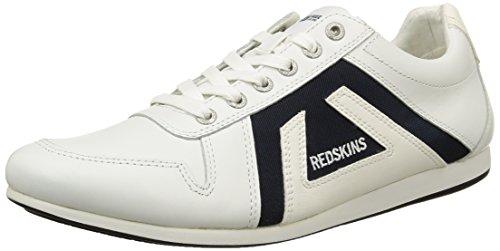 Redskins Breb, Baskets Basses Homme Blanc (Blanc/Navy)