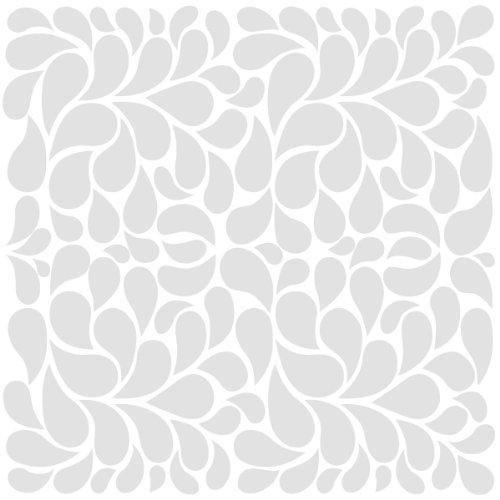 Bazzill Basics Paper 12 x 12 Zoll, CLR Fancy Feathers, Karton, 15 Stück, weiß (Karton Fancy)