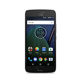 Moto G 5ª Generación Plus - Smartphone libre Android 7 (pantalla de 5.2'' Full HD, 4 G, cámara de 12 MP Dual Pixel, 3 GB de RAM, 32 GB, Qualcomm Snapdragon 2.0 GHz), color gris - [Exclusivo Amazon] (B06XSXD4TY) | Amazon Products