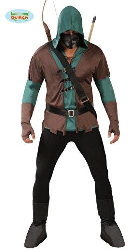 Gallischer 80722–Kostüm Bogenschütze, braun, Einheitsgröße (Kostüm Amazon Assassin)