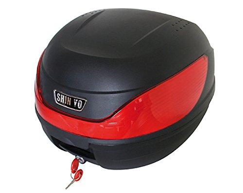 Top Case Topcase Case Koffer MlLANO 32 l für Roller u. Motorrad schwarz