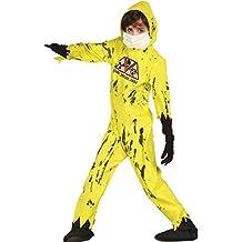 Disfraz de zombie nuclear infantil pequeño (3-4 años)