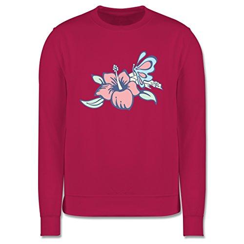 Blumen & Pflanzen - Blumen - Herren Premium Pullover Fuchsia