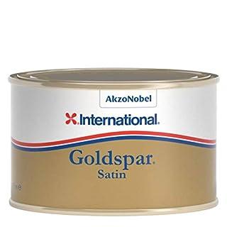 International Goldspar Satin Yacht Varnish 375ml Tin