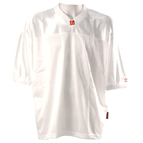 barnett FJ-1 flag & football jersey, white, size XL