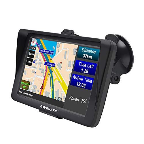 """GPS para Coche Pantalla de 7"""" Nüvi con Bluetooth Sat Nav Navigador para Camión y Automóvil con Actualizaciones de Mapas de por Vida"""