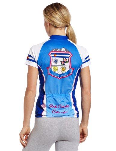 Pearl Izumi Select LTD Maillot de cyclisme à manches courtes pour femme Colorful Colorado