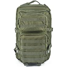 Mil-Tec–Military Army Patrol Molle Assault Pack–Mochila táctica bolsa 36L verde oliva