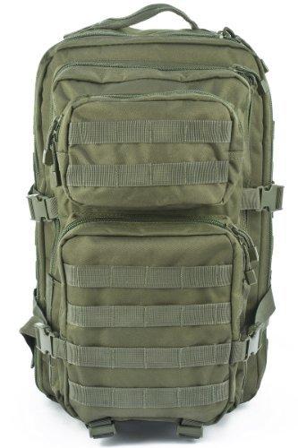 Imagen de mil tec–military army patrol molle assault pack– táctica bolsa 36l verde oliva