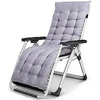 DEO Fauteuils inclinables Chaise pliante Chaise longue de siesta d été  Bureau Chaise de plage 58ca99b26c30
