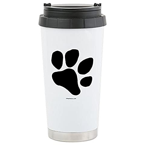 CafePress - Paw.Png - Stainless Steel Travel Mug, Insulated 16 oz. Coffee & Tea Tumbler