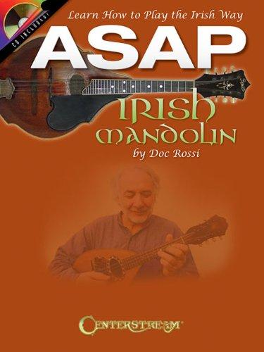 ASAP Irish Mandolin - Learn How To Play The Irish Way (Book/CD): Noten, CD für Mandoline