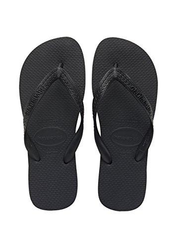 flip flops damen schwarz Havaianas Unisex Top Zehentrenner, Schwarz (Black 0090), 45/46 EU  ( 43/44 Brazilian)
