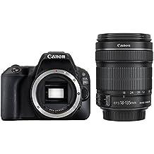 Canon Eos 200D Ef-S 18-135 Mm Digital SLR Camera - Black