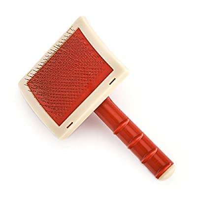 Lambland Value Rug Slicker Brush / Perfect for Sheepskins - cheap UK light shop.