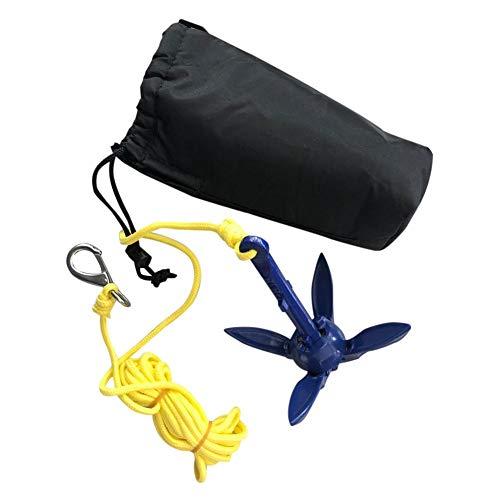 Descripción:Kit completo de anclaje para kayak / tabla de remo, que incluye anclaje, cuerda de 16.4 pies y gancho de resorte y bolsa de almacenamiento.El anclaje es plegable y su tamaño compacto hace que sea fácil de almacenar y transportar.Con cu...