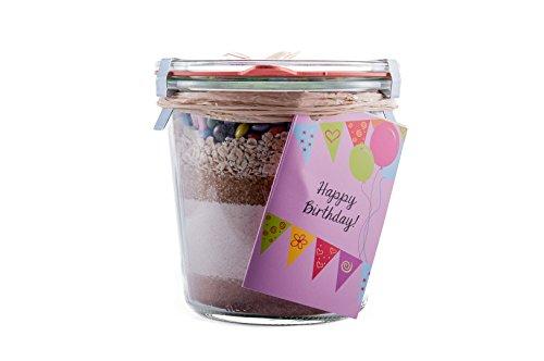 Weck-Glas,Kuchen,Backmischung,Geburtstag,backen