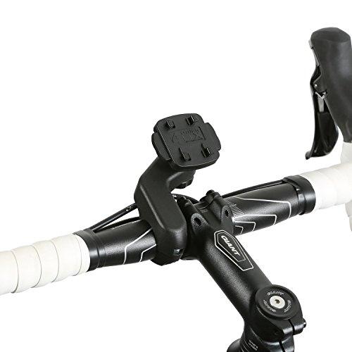QuickMOUNT 3.0 Fahrrad / Motorrad / Bike Design Halterung (Wicked Chili, Schnellverschluss, Made in Germany) schwarz