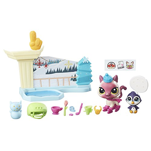 Littlest Pet Shop Ice Skating Playset by Littlest Pet Shop (Pet Littlest Shop Spiele)