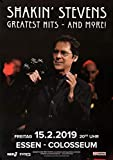TheConcertPoster Shakin` Stevens - Greatest Hits, Essen
