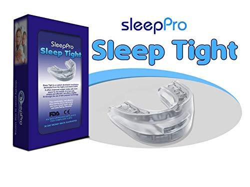 SleepPro Sleep Tight - Einteilige Anti-Schnarchschiene zur Verbesserung der Schlafqualität im FlexPoint-Set mit Schlaftipp ABC preisvergleich