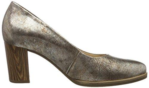 11 43 Sapatos torba 62 Senhoras Gabor Castanho Conforto Madeira Bombas qwwPAXg