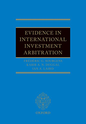 Evidence in International Investment Arbitration (English Edition)