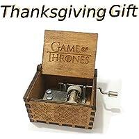 Mano pura juego de tronos clásico caja de música Mano caja de música de madera artesanía de madera creativa mejores regalos,Game of Thrones