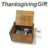 su ma Reine Hand-Klassischen Game of Thrones Musik-Box Hand-hölzerne Spieluhr Kreative Holz Handwerk Beste Geschenke