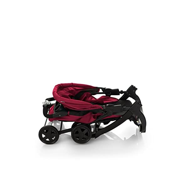 Hauck Shopper Neo II, Folding Pushchair from Birth to 25 kg, Lightweight with Lying Position, Two Cupholder Trays, One Hand Fold, Caviar/Tango Hauck Fold in seconds with one hand Comfortable seat with lying position and adjustable footrest Includes 2 practical bottle trays 10