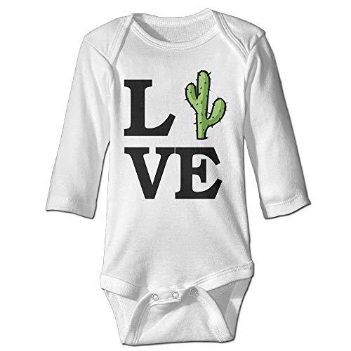 Natasha Scott Love Cactus Long Sleeves Neugeborenes Baby Spezial Baby Klettern Kleidung Größenschlüssel