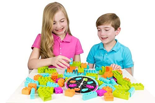 Strictly briks brik builder - gioco da tavola per bambini ed infanti - con costruzioni e mattoncini compatibili con tutte le principali marche