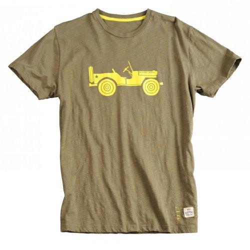 Alpha Industries T-Shirt Willys T, Farbe:olive;Größe:M