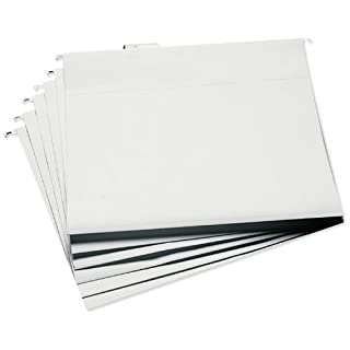 Advantus 13,25X 14.75-inch Cropper Hopper zum Aufhängen Datei Ordner, weiß, 6Stück