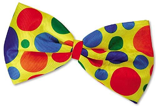 Damen Herren Erwachsene Riesige Extragroß Bunt Gepunktet Clown Zirkus Rainbow Kostüm Kleid Outfit Fliege