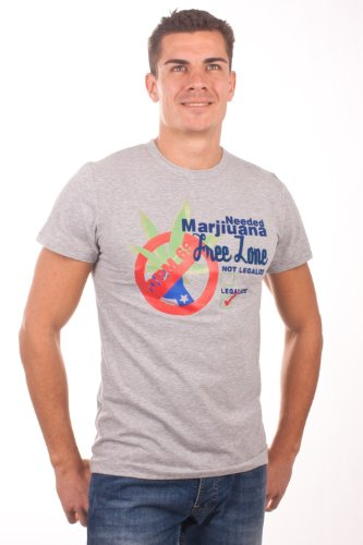 De Puta Madre 69 T-Shirt kurzarm Marj. free zone 4238, groesse herren:M, color:violett