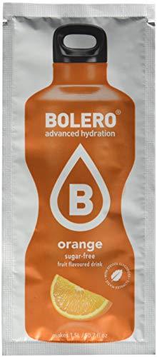 12 x Bolero Powdered Drinks Classic 9 g sachet Orange