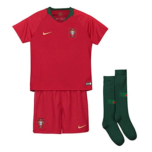 Nike 2018-2019 Portugal Home Mini Kit