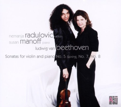 Beethoven: Sonatas for Violin and Piano No. 5 Spring, No. 7, No. 8