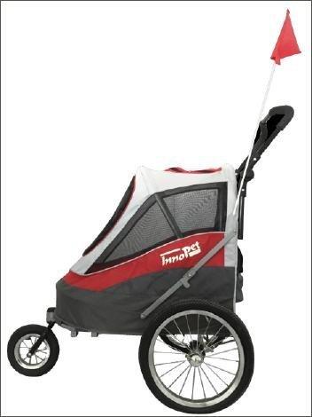 Fahrradanhänger Hundebuggy InnoPet Modell Sporty Trailer bis 30kg - 3