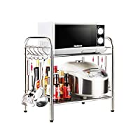 Cubic Kitchen Storage and Organizers, Stainless Steel, Silver