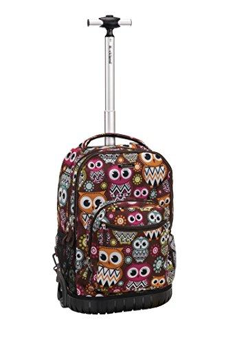 rockland-19-inch-rolling-backpack-multipurpose-owl