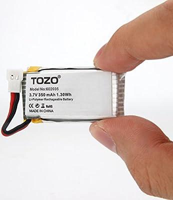 TOZO reg; Q2020-05 Lithium battery for Q2020 Drone RC Quadcopter Remote Quadcopter.[ 2PCS ]