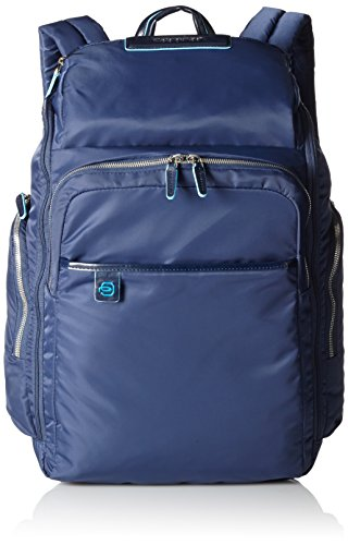 Piquadro Celion Zaino, Nylon, Blu, 45 cm