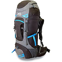 MONTIS ARACAR 55 - Mochila de Trekking y Senderismo - 55 l - 70 x 32-1500 g
