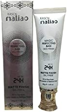 TMACSN ORIGINAL HIGH QUALITY FACE PRIMER MALIAO MAGIC PERFECTING BASE MATTE FINISH 24 HOUR OIL FREE LOOK FOR ALL SKIN TONE. Primer - 30 g  (TRANSPRENT)