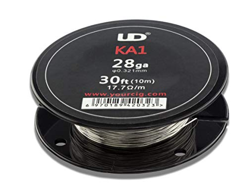 UD Youde Draht, Kanthal A1, 28AWG / 0,321mm, 10m-Spule