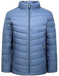 5cf234c4be94c0 Winter mittleren Alters Daunenjacke Light und kurzen kurzen Papa Winterwear  Casual mittleren Alters Jacke Baumwolljacke (Farbe   Sky…